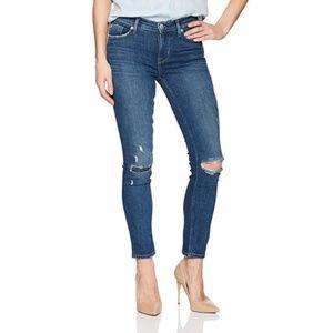 NWT Hudson Tally Midrise Skinny Crop Jeans